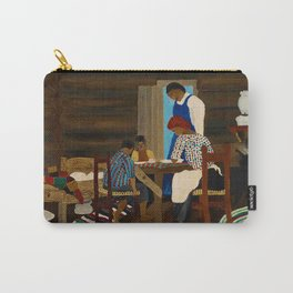 African American Masterpiece 'Giving Thanks' by Horace Pippin Carry-All Pouch