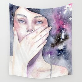 Among the stars Wall Tapestry