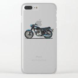 TRIUMPH BONNEVILLE T100 Clear iPhone Case