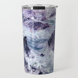 Monet : Storm At Belle Ile Travel Mug