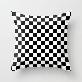 Checkered Flag Throw Pillow