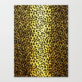 Leopard Print Animal Wallpaper Canvas Print