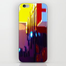 At The Bowling Alley iPhone Skin