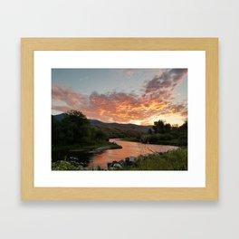 Rukavina Sunset Framed Art Print