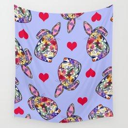 Bunny Love Wall Tapestry