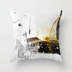 size matters Throw Pillow