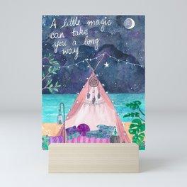 A little magic can take you a long way... Mini Art Print