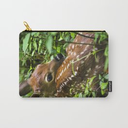 Whitetail Deer Fawn Carry-All Pouch