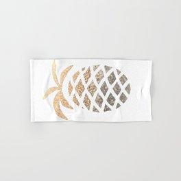 GOLD PINEAPPLE Hand & Bath Towel