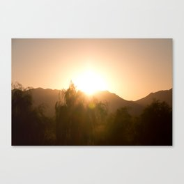 Arizona Surise Canvas Print