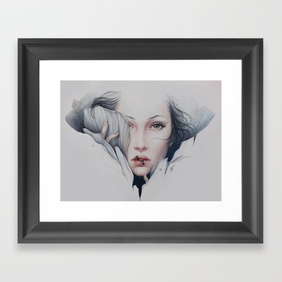 Empath Framed Art Print