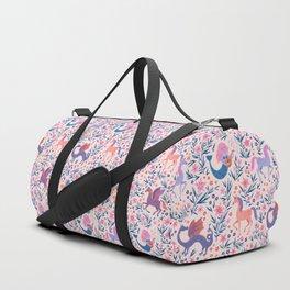 Fairy Folk Floral Duffle Bag