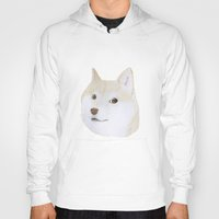 doge Hoodies featuring Doge by belgoldie