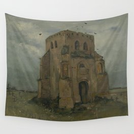 The Old Church Tower at Nuenen Wall Tapestry
