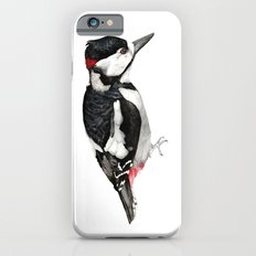 Great Spotted Woodpecker iPhone 6s Slim Case