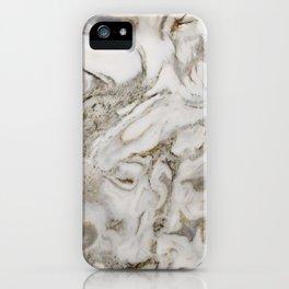 Crema marble iPhone Case