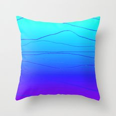 State of Zanity Throw Pillow