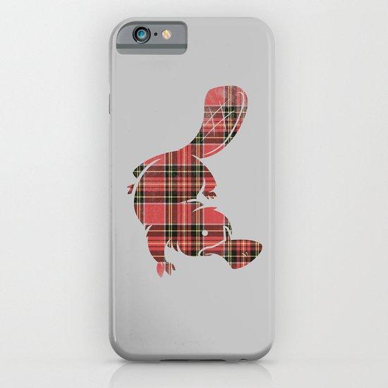 Plaidapus delux iPhone & iPod Case