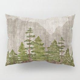 Mountain Range Woodland Forest Pillow Sham