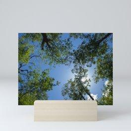 Tree Tops Mini Art Print