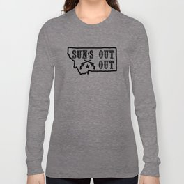 Suns Out Guns Out Hyalife Long Sleeve T-shirt