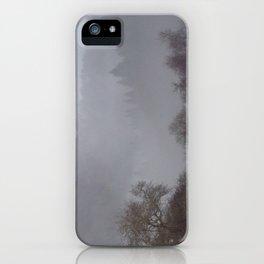 West Dartmoor valley in the mist iPhone Case
