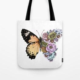 Butterfly in Bloom II Tote Bag