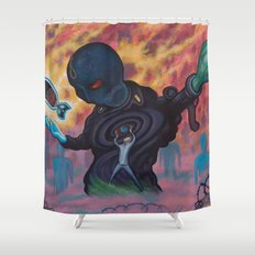 Vic The Butcher Shower Curtain