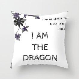 And I Darken Throw Pillow