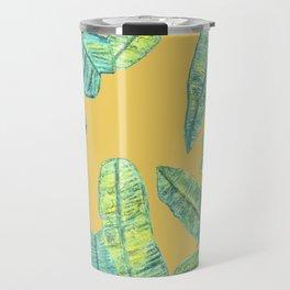orange tropical daze Travel Mug