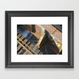 BU Bridge Framed Art Print