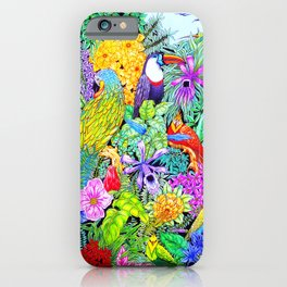 Nature's Sleeping Serenity iPhone Case