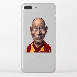 Celebrity Sunday ~ Dalai Lama Clear iPhone Case