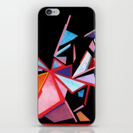 Angles Of A Setting Sky iPhone Skin
