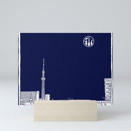 Tokyo Sky Tree by Night Mini Art Print