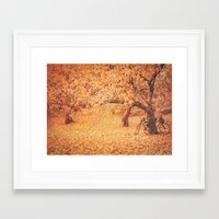 new york city Framed Art Prints featuring Autumn - New York City by Vivienne Gucwa