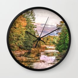 Parrott's Bay Wall Clock
