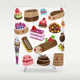 Petit Four Shower Curtain