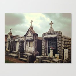 St. Louis Cematary #3 Canvas Print