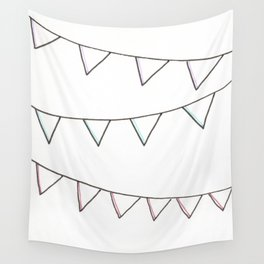 Salutations, Bunting Flags! Wall Tapestry