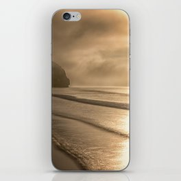 And so it Begins sunrise at Avila Beach California iPhone Skin