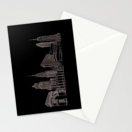 New York City by the Downtown Doodler Stationery Cards