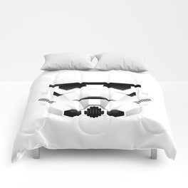 """WHITE TROOPER"" Comforters"