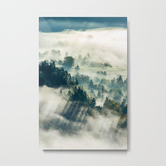 Return to the Mist Metal Print