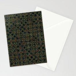 Random Octagonal Pattern  Stationery Cards