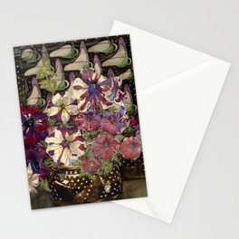 "Charles Rennie Mackintosh ""Petunias"" Stationery Cards"
