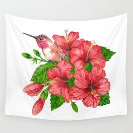 Tropical bouquet Wall Tapestry