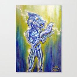 Simbiosi Canvas Print