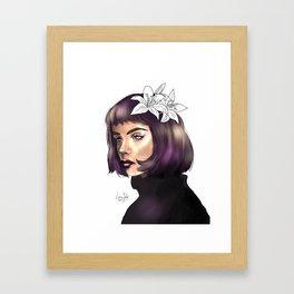 Pansy Parkinson (HP) Framed Art Print