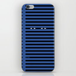 Blue velvet iPhone Skin